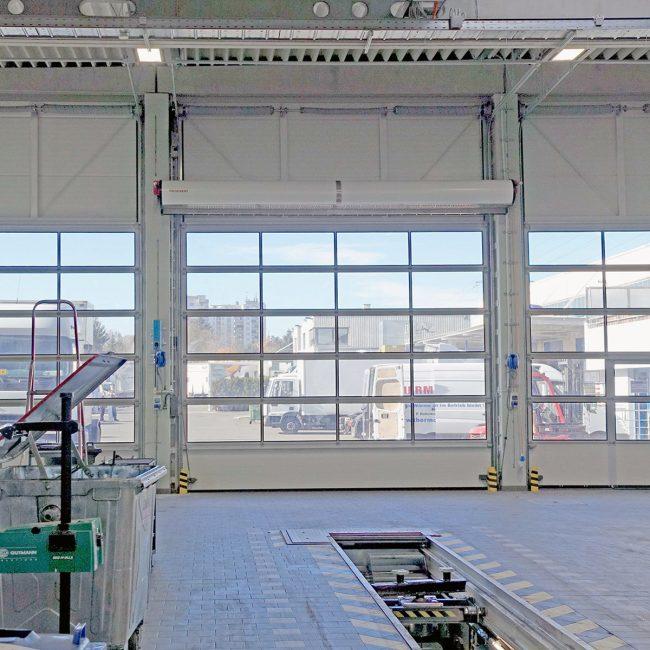 THERMOVENT Sistema de cortina de aire TIPO S-475