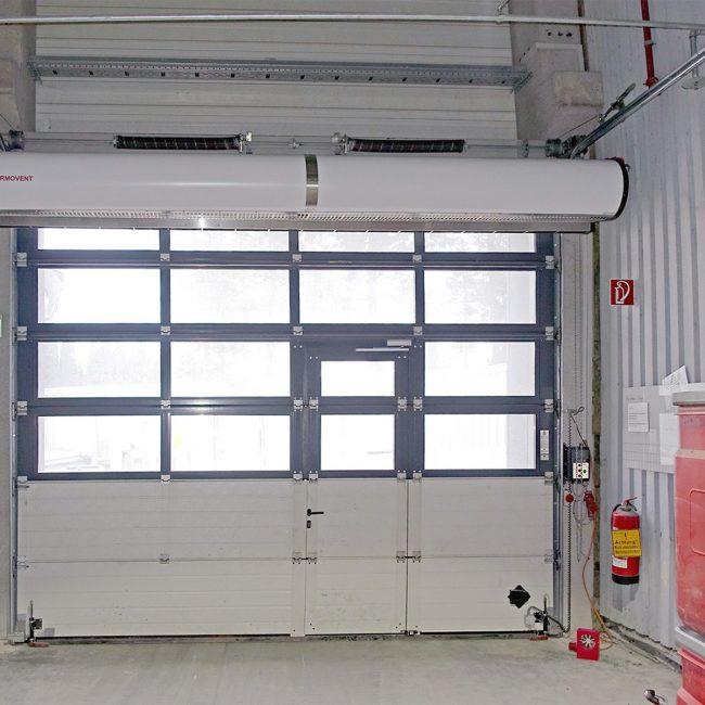 THERMOVENT Sistema de cortina de aire TIPO G-425