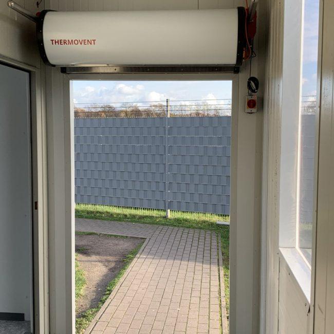 THERMOVENT Sistema de cortina de aire TIPO G-175